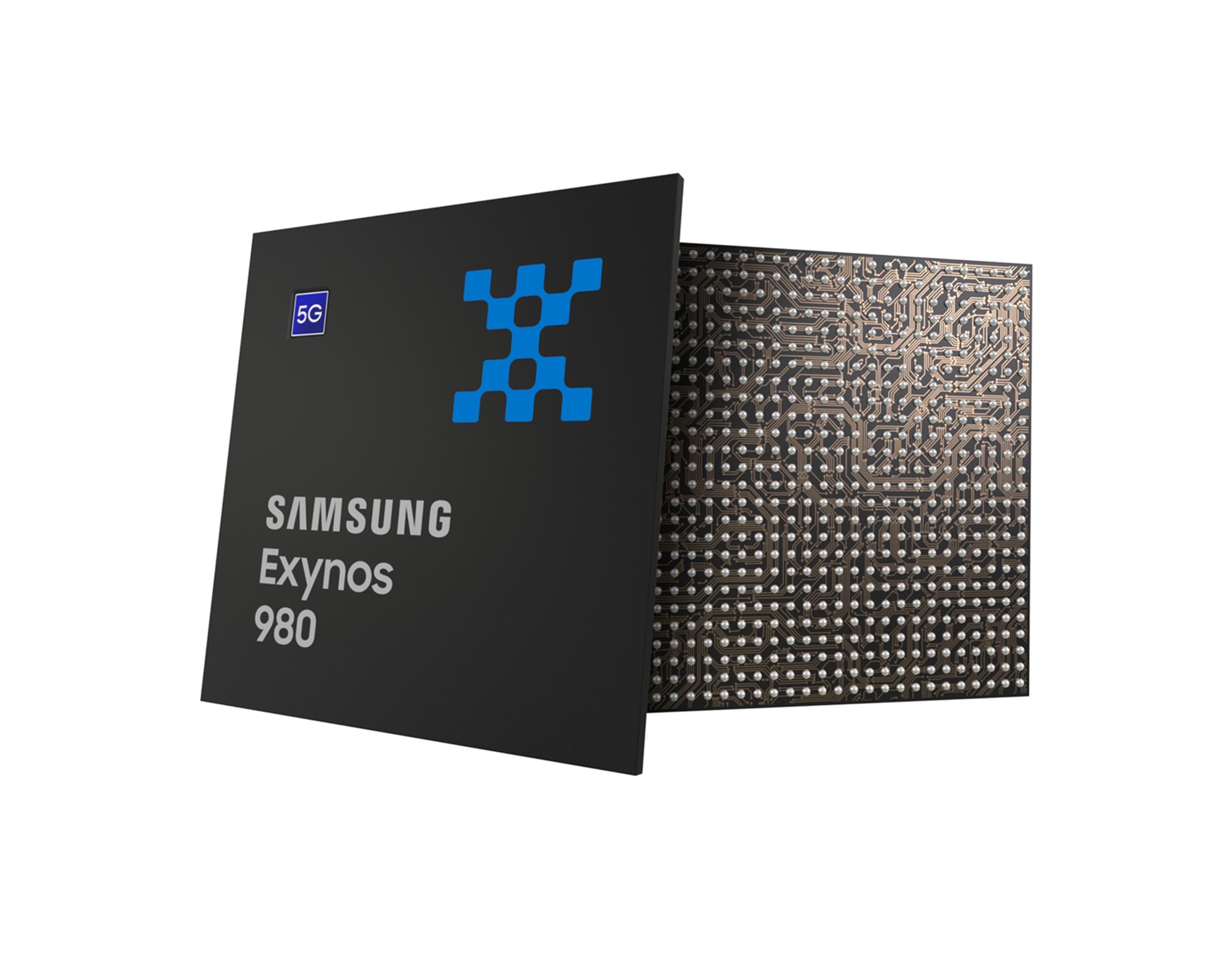 Samsung представила свой первый мобильный 5G-процессор Exynos 980