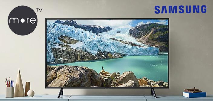 Онлайн-сервис more.tv эксклюзивно доступен на телевизорах Samsung