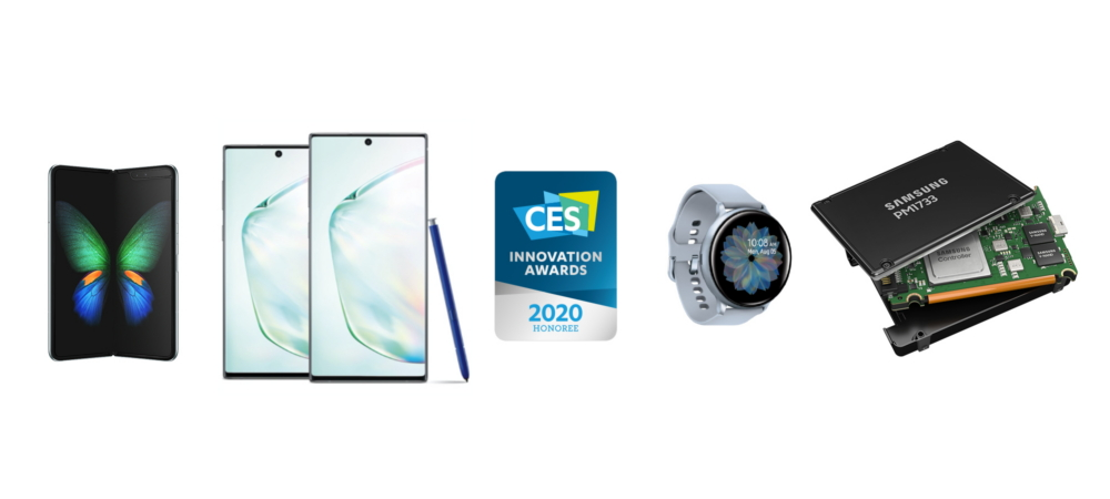 Samsung получила 46 наград CES 2020 Innovation Awards