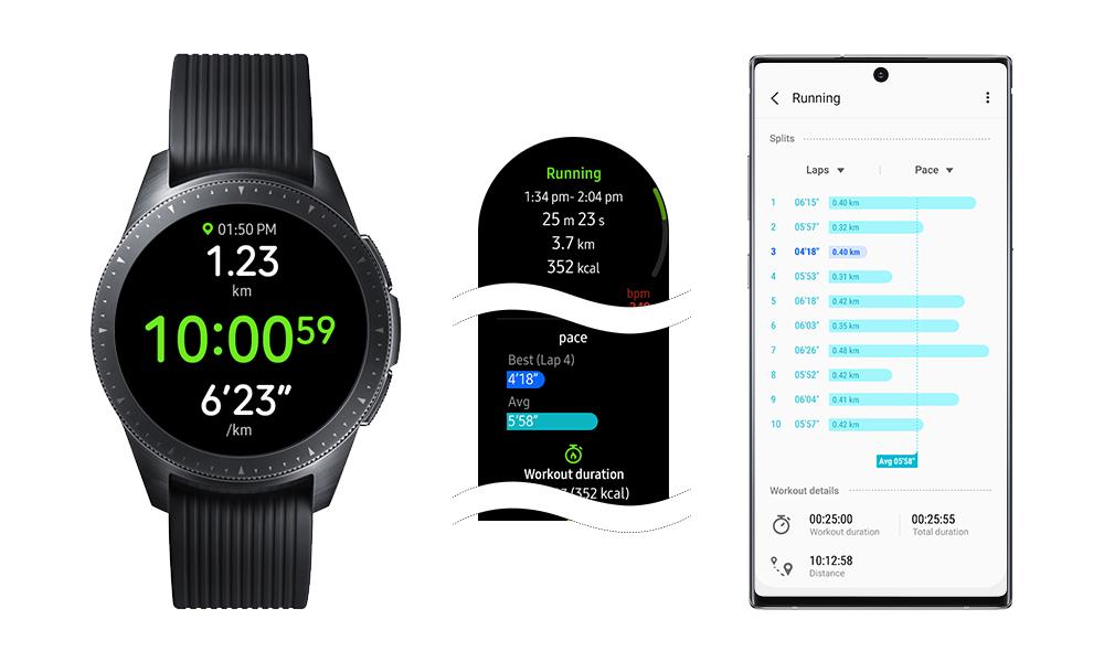 Функции Galaxy Watch Active2 стали доступны на Galaxy Watch и Watch Active
