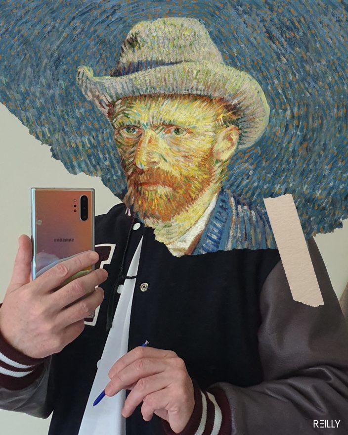 Мобильные шедевры: Hey Reilly переосмыслил классические картины для поколения Instagram