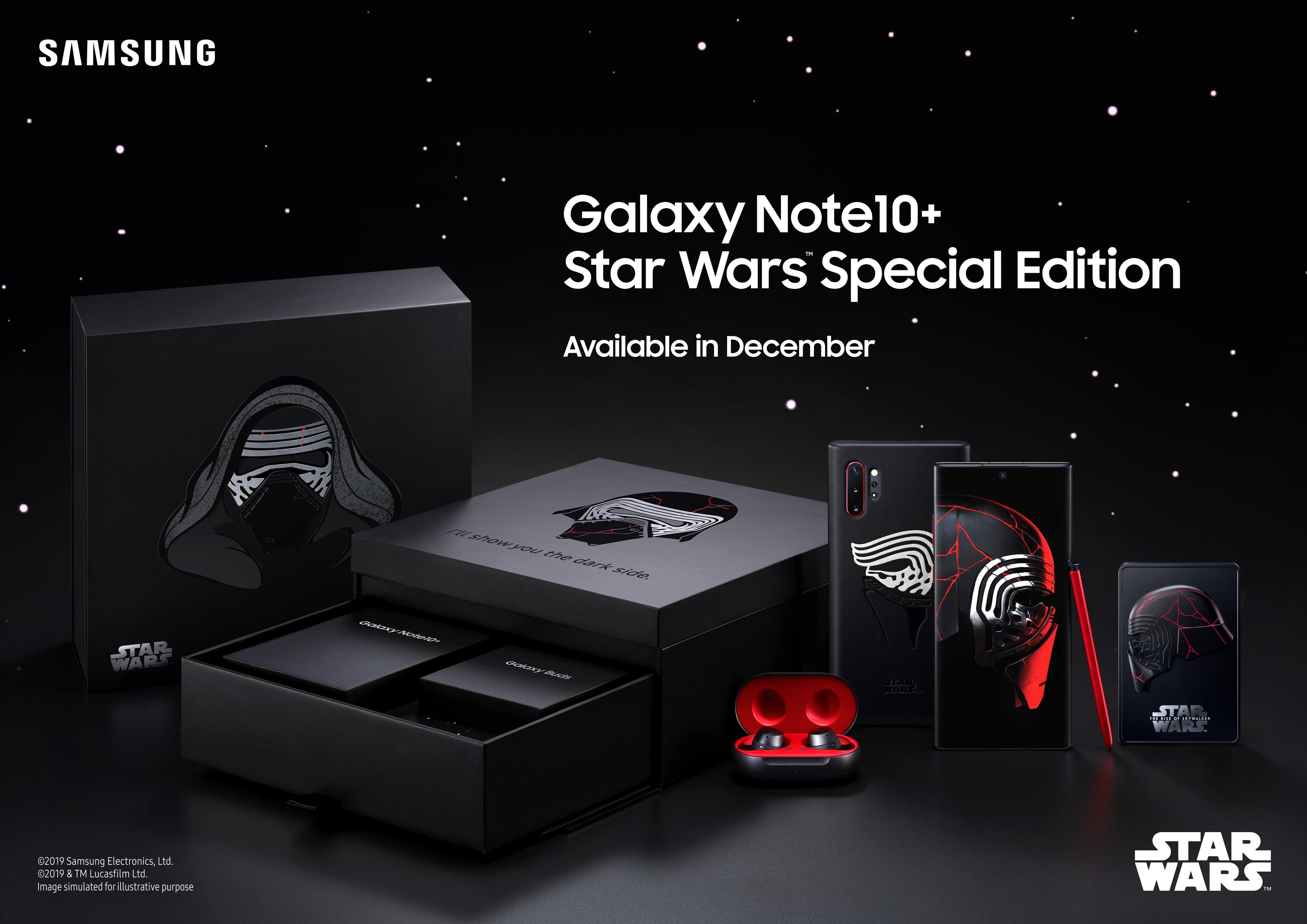 Samsung представляет Galaxy Note10+ Star Wars ™