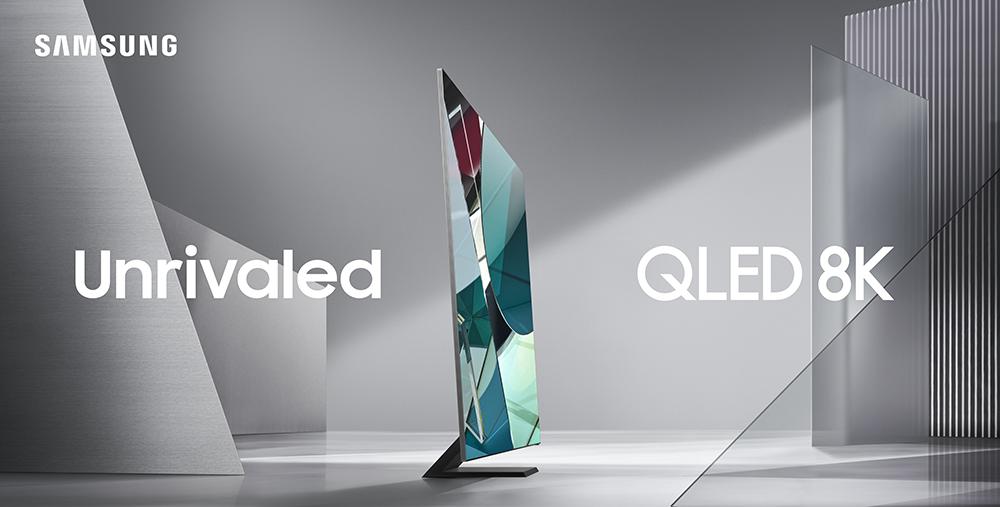 Samsung представляет телевизоры QLED 8K