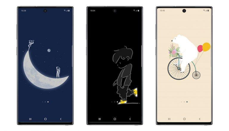 Samsung составила рейтинг самых популярных тем и обоев для смартфонов Galaxy