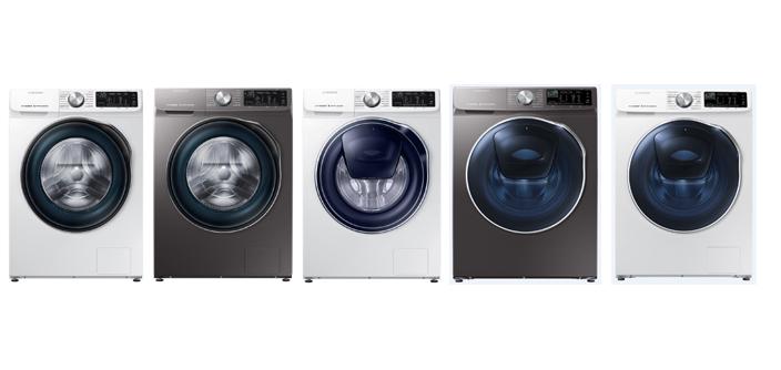 Стиральные машины Samsung нового поколения стали доступны  на российском рынке