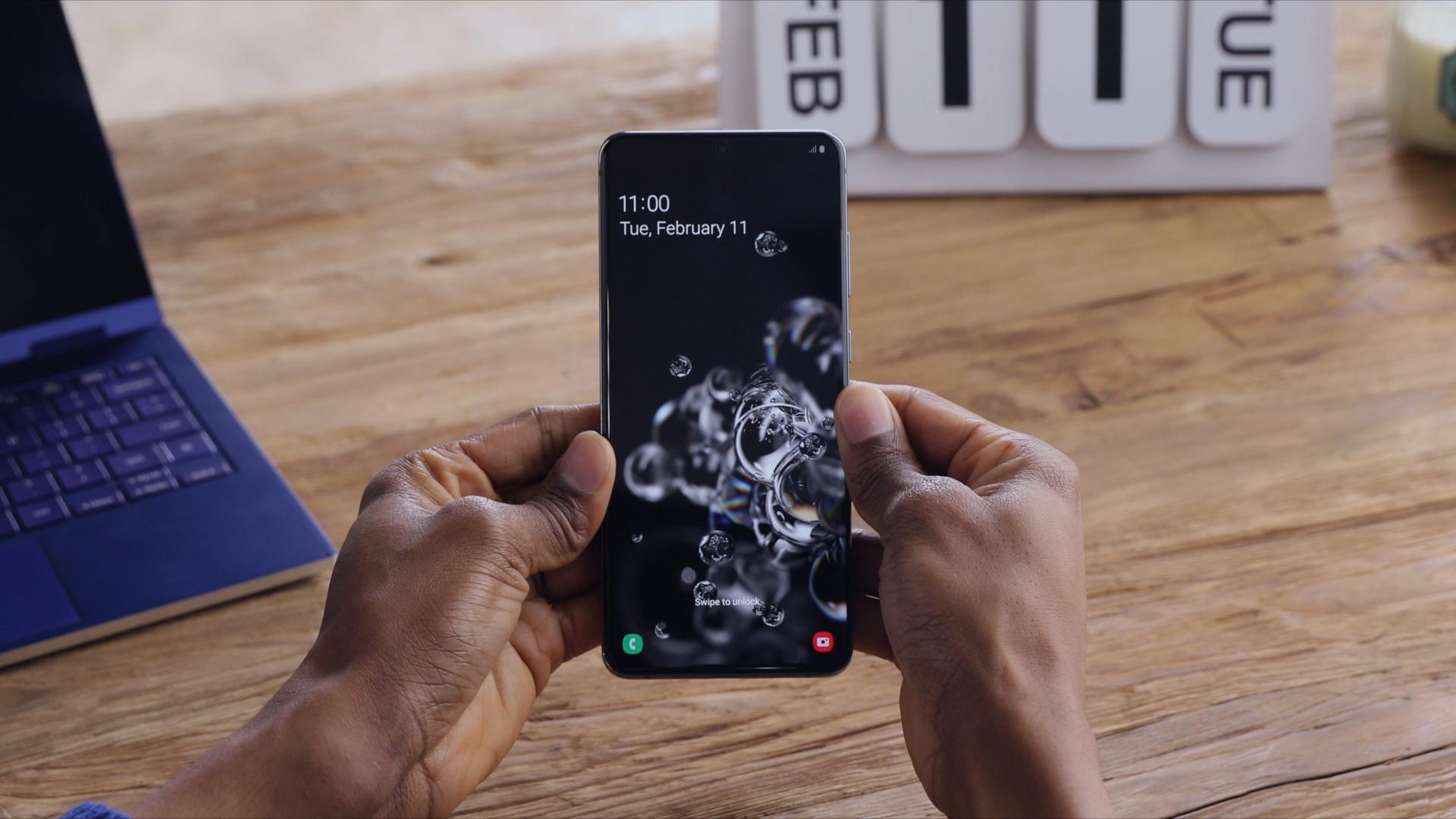 Samsung представляет Galaxy S20