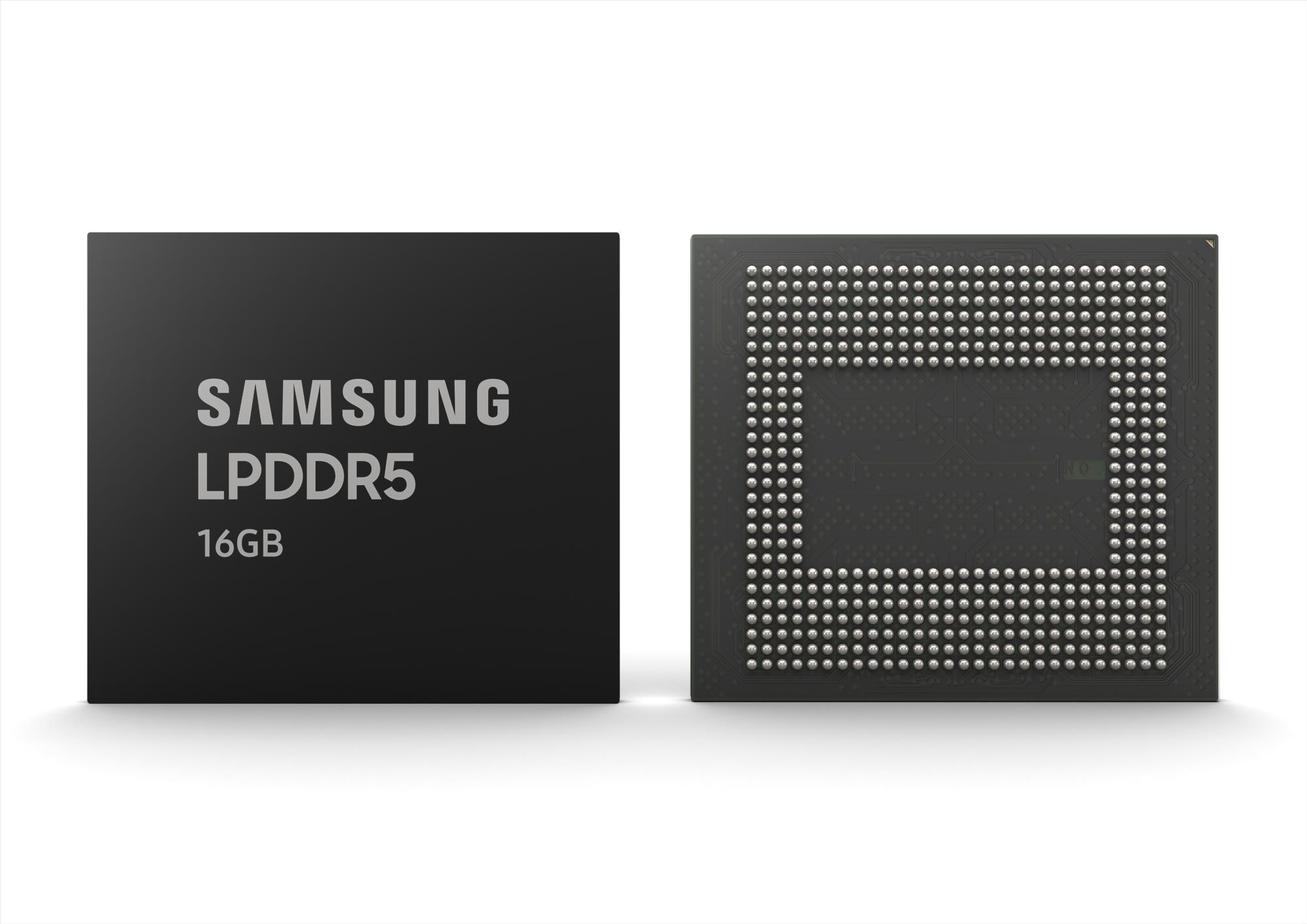 Samsung LPDDR5 DRAM 16 Гб