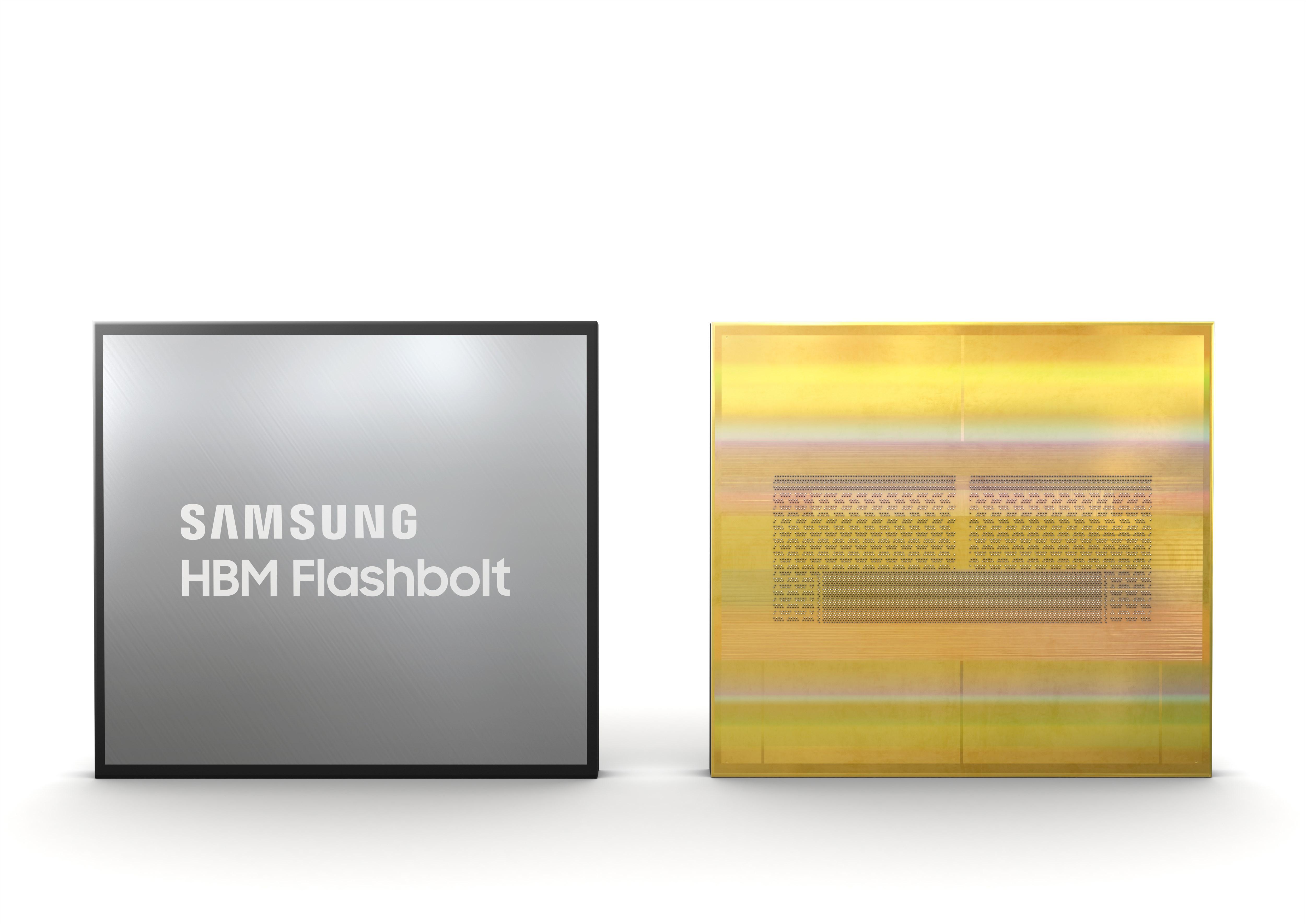 Samsung представляет модули памяти HBM2E третьего поколения
