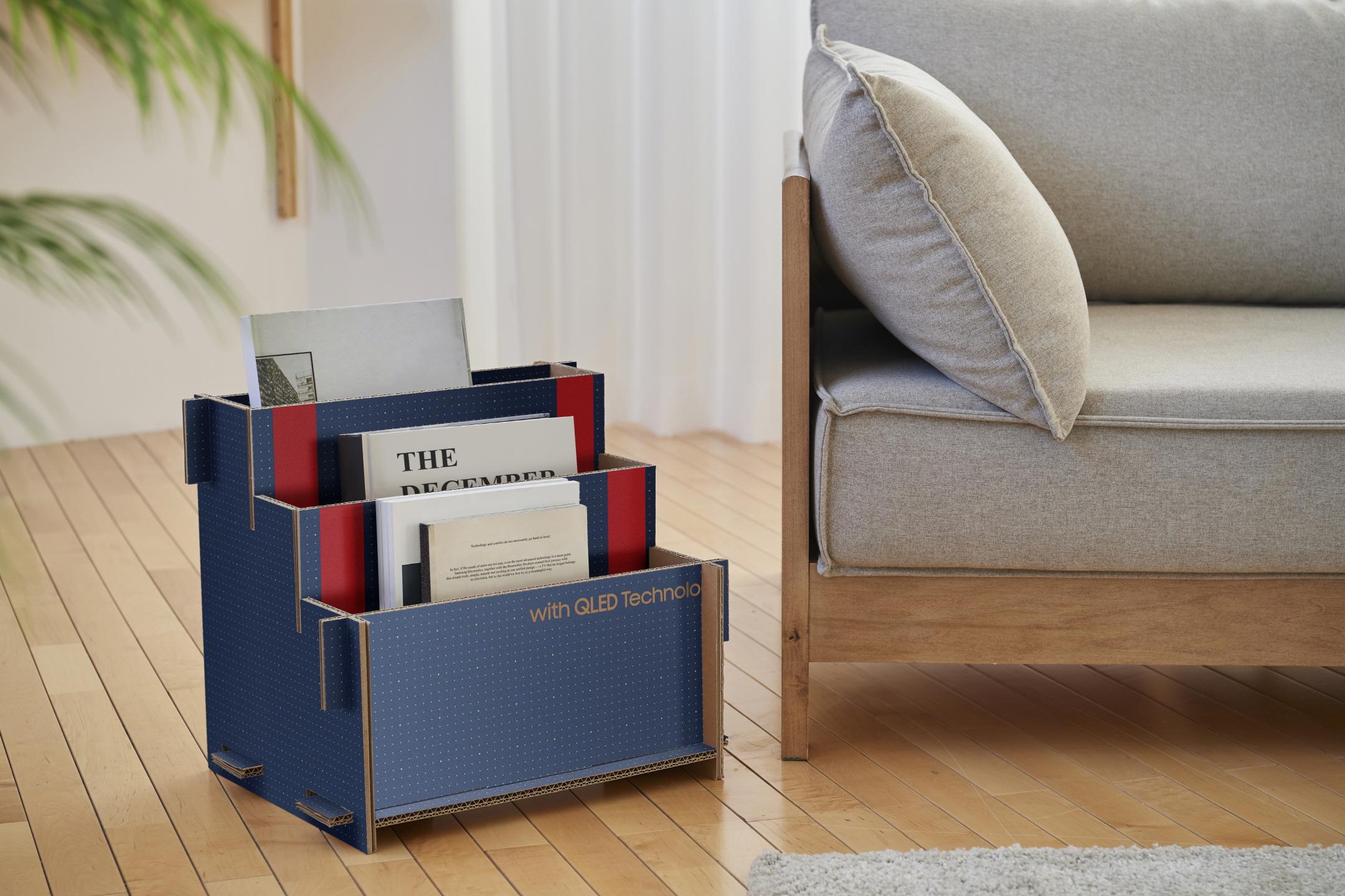 Samsung запускает конкурс креативных проектов из картонных коробок