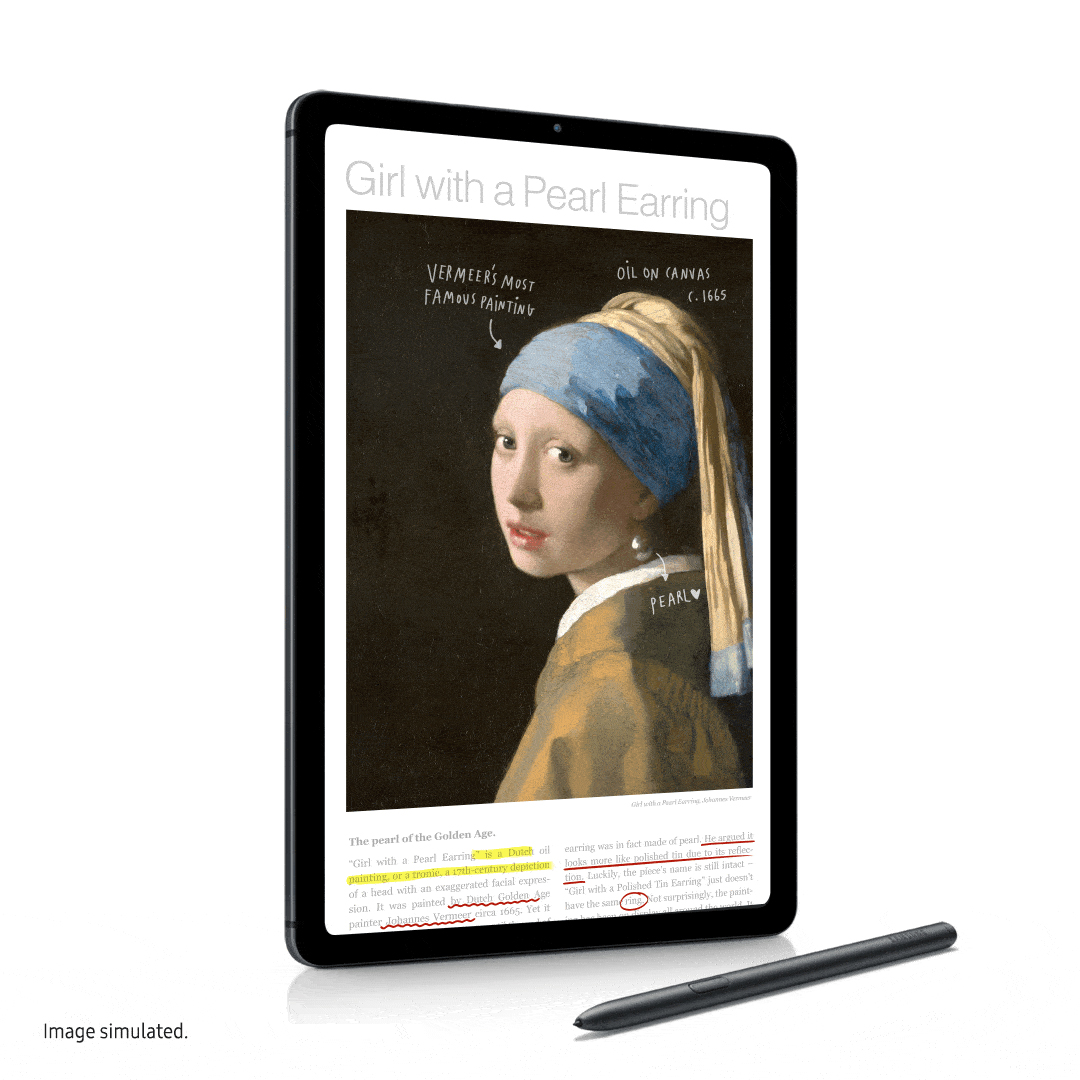 Samsung представляет Galaxy Tab S6 Lite с S Pen