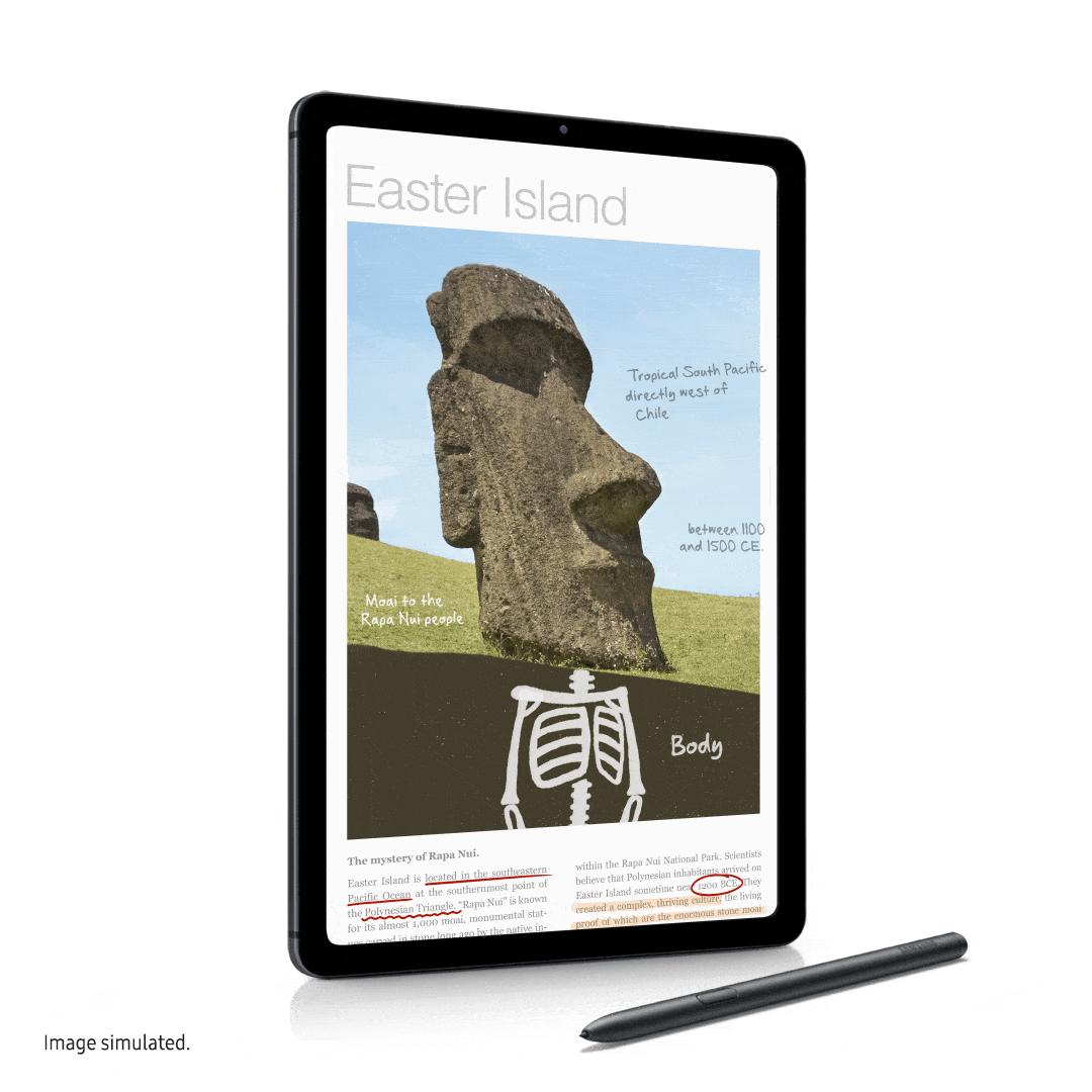 Планшет Samsung Galaxy Tab S6 Lite с S Pen