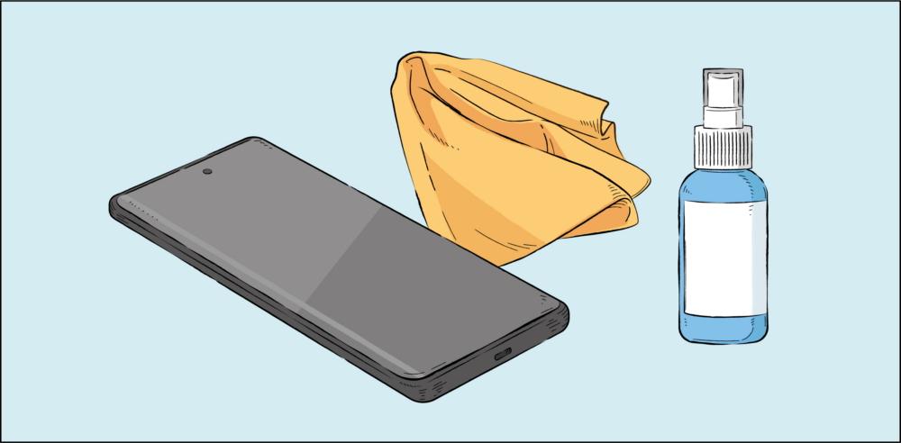 Советы по дезинфекции мобильного устройства