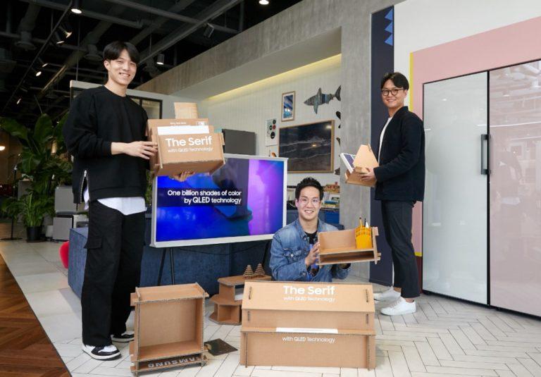 От идеи до воплощения: как создавалась «зеленая» экоупаковка телевизоров Samsung