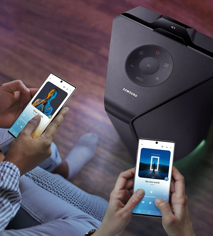Samsung представляет аудиосистемы Sound Tower