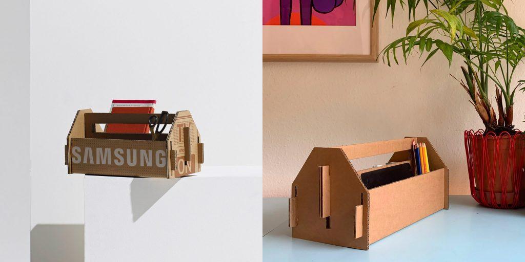 Samsung представляет шорт-лист дизайнерских проектов из картонных коробок