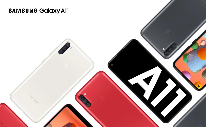 Galaxy A11 поступил в продажу в России