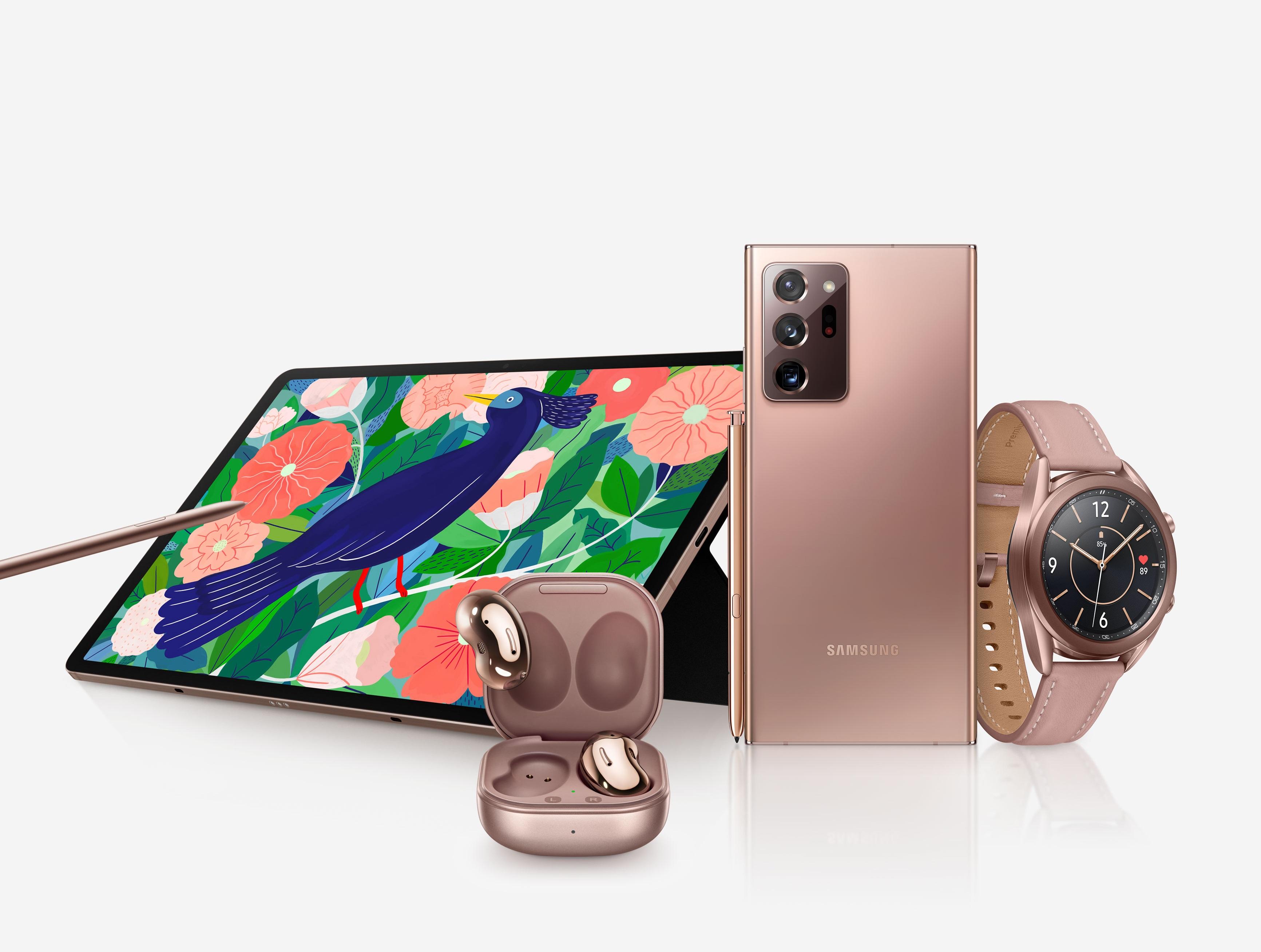Устройства Samsung Galaxy нового поколения поступили в продажу в России