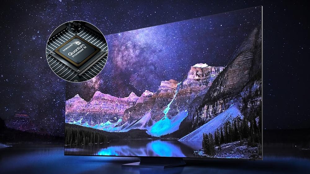 Секрет большого ТВ-экрана со сверхвысоким разрешением: процессор Quantum с технологией искусственного интеллекта