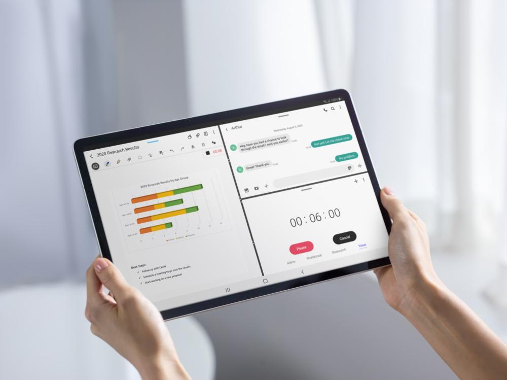 Galaxy Tab S7 и S7+ —  ваши идеальные помощники для работы, игр и многого другого