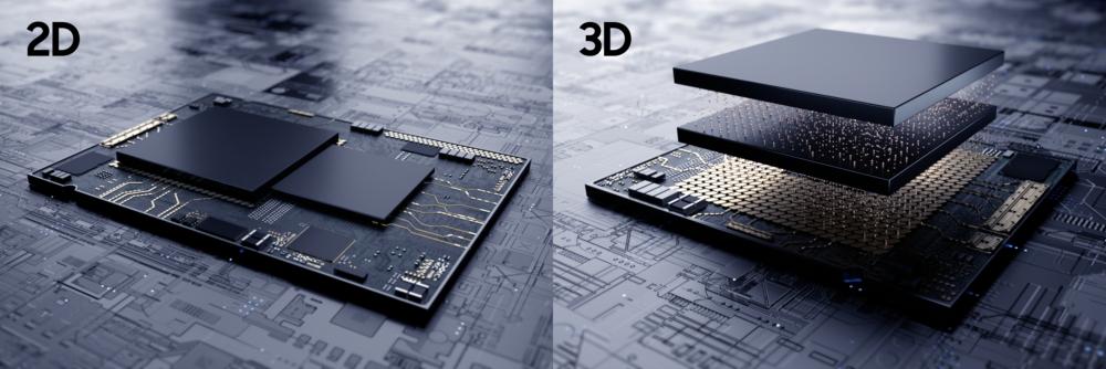 Samsung представила новую технологию объемной компоновки микросхем