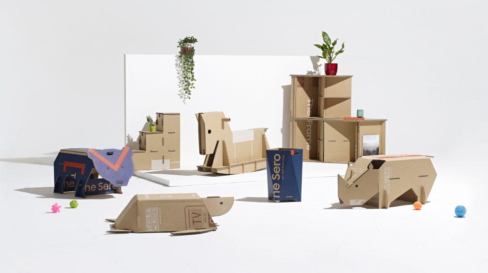 Samsung подводит итоги конкурса поделок из картонных коробок