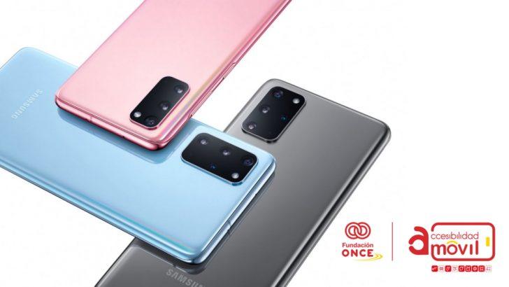 Смартфоны Samsung Galaxy получили знак отличия Испанской национальной организации слепых (ONCE)