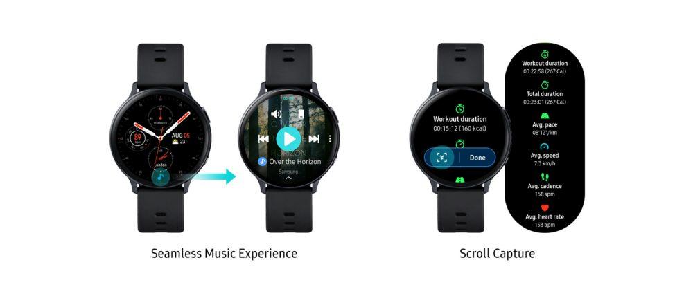 Galaxy Watch Active2 получили новые функции