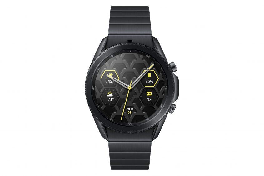 Samsung объявляет о старте продаж Galaxy Watch3 Титан
