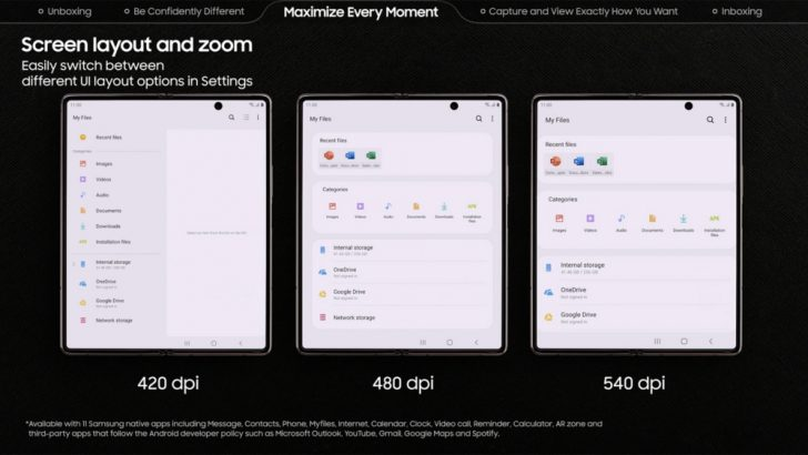 Искусство многозадачности Galaxy Z Fold2