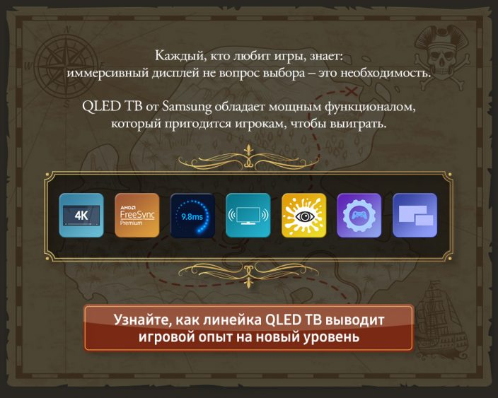QLED ТВ. Гид для геймеров