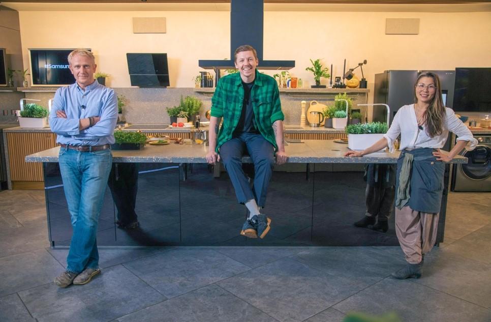 Эпоха digital-кулинарии: Samsung провела исследования, как меняется культура еды и приготовления пищи