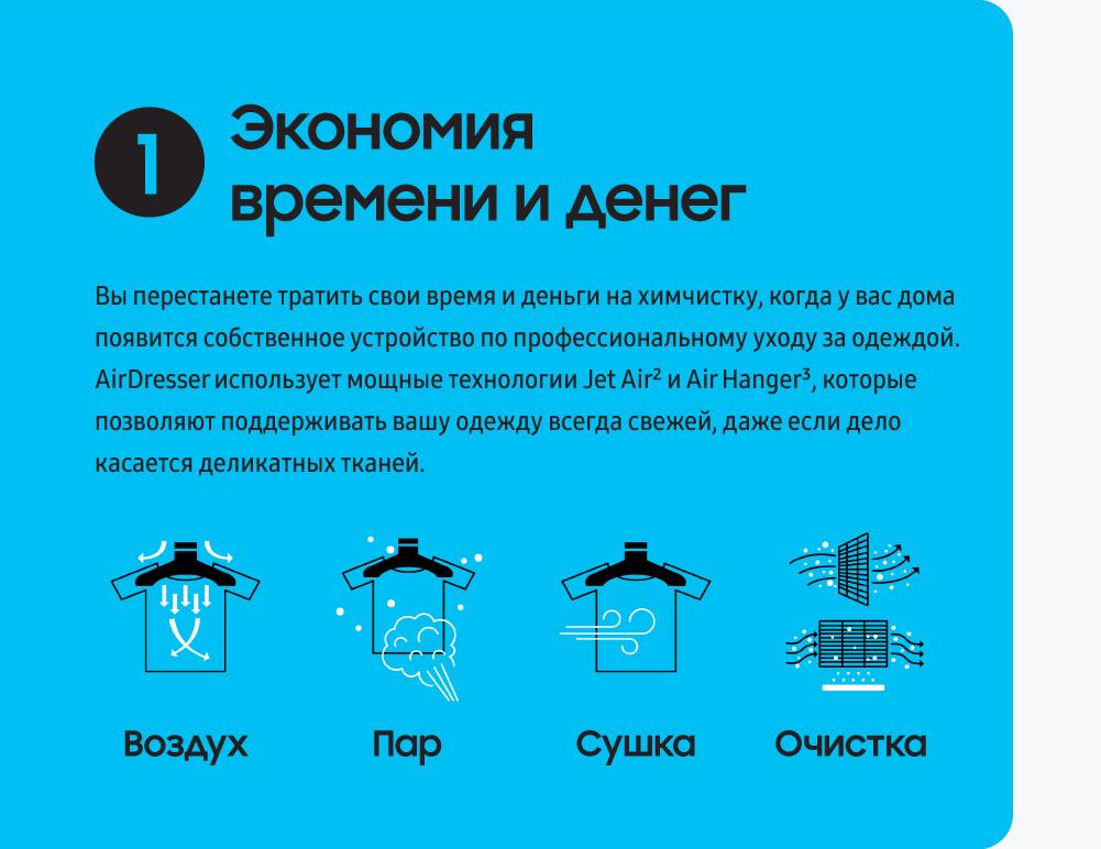 4 причины, почему Samsung AirDresser изменит вашу жизнь к лучшему