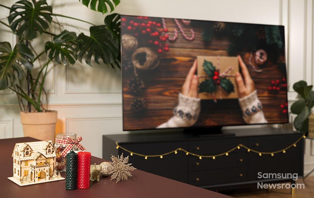 Как встретить зимние праздники с телевизорами Samsung QLED 8K