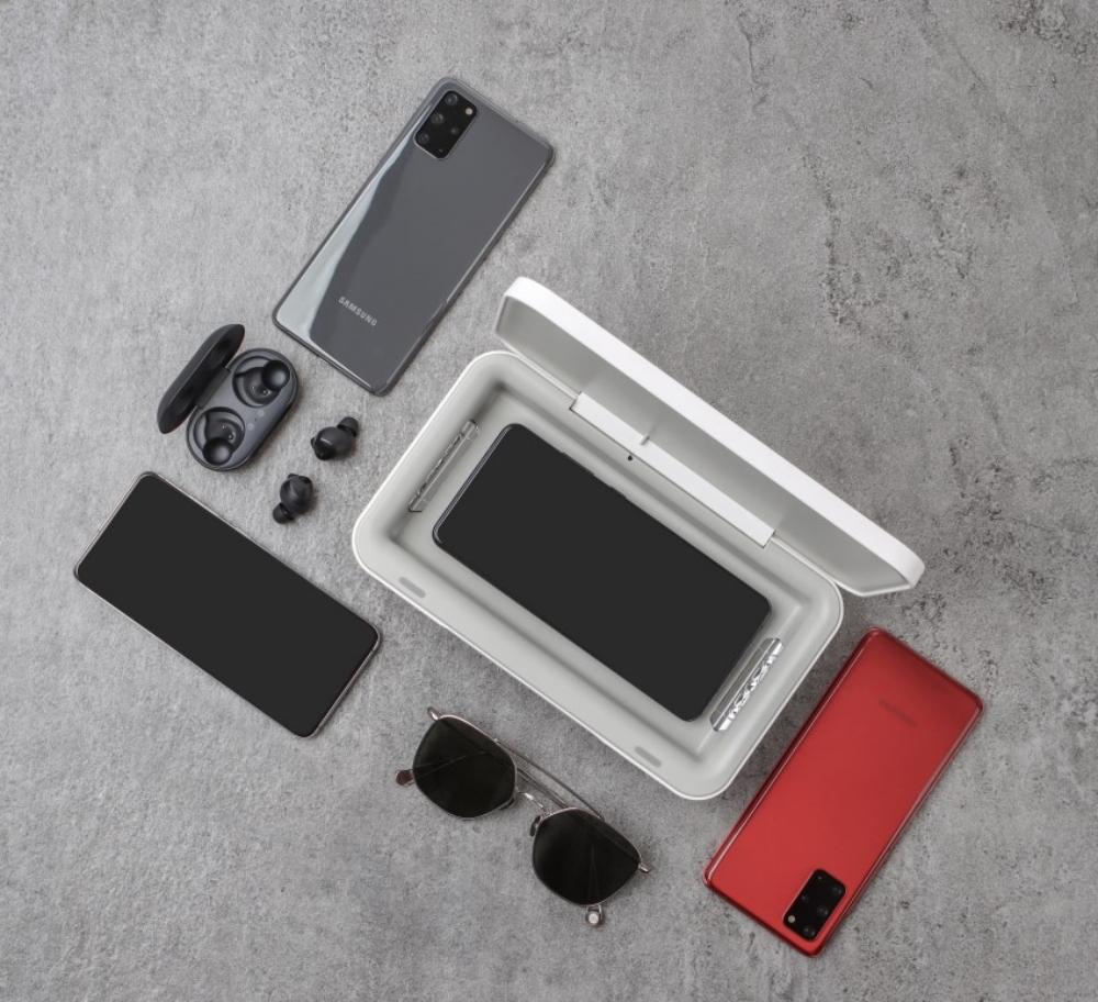 Samsung представляет УФ-стерилизатор для мобильных устройств