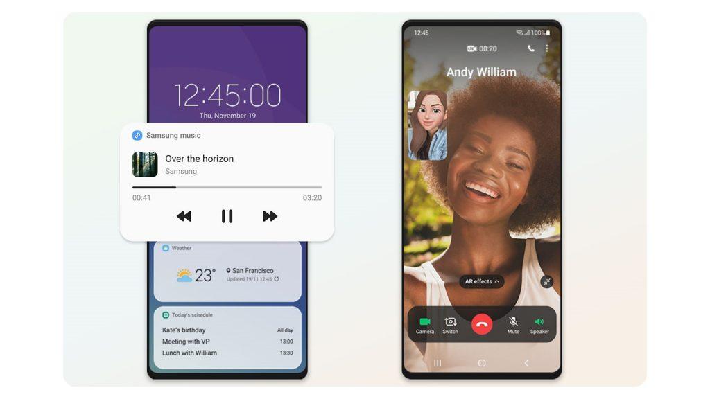 Samsung представляет One UI 3