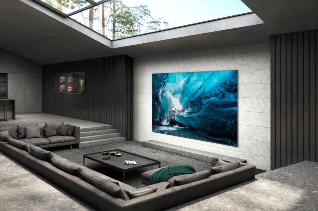 Компания Samsung представила 110-дюймовые телевизоры MicroLED для домашнего использования