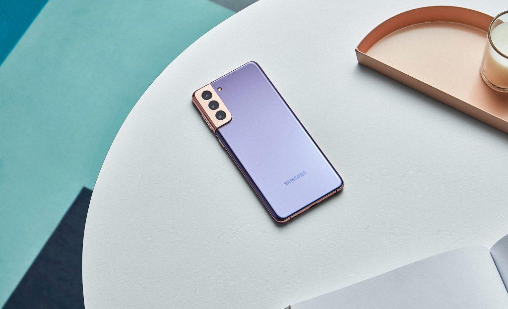 Samsung представляет новые смартфоны Galaxy S21 и Galaxy S21+