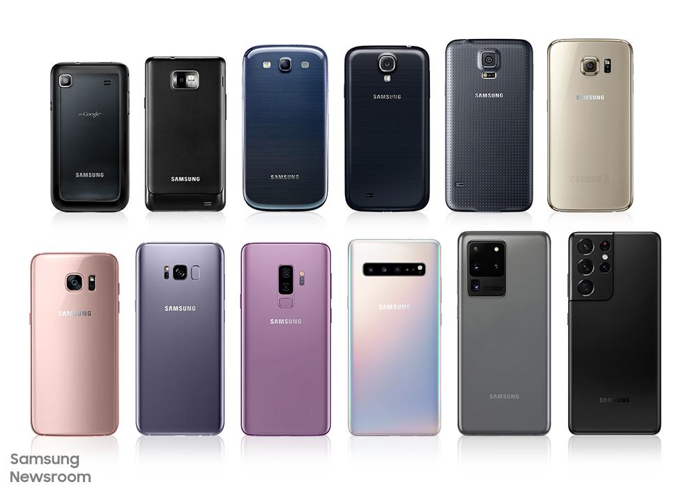 Эволюция камер смартфонов Samsung Galaxy S