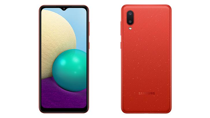Galaxy A02 – смартфон для активных пользователей