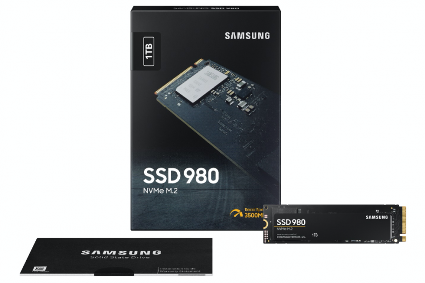 Samsung представила доступный твердотельный накопитель 980 NVMe без DRAM-буфера
