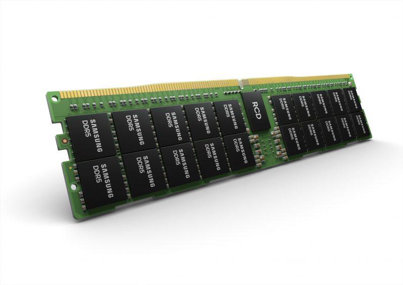 Samsung разработала память DDR5 объемом 512 ГБ для суперкомпьютеров и ЦОД