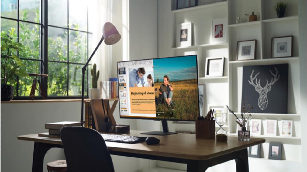 Как Samsung SMART-монитор помогает следовать эффективному распорядку дня на удаленке