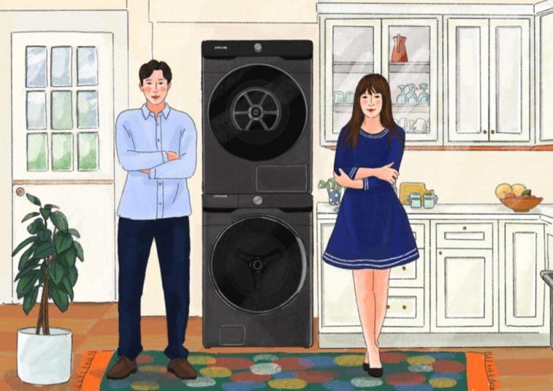 Больше никаких домашних обязанностей — как стиральные и сушильные машины Samsung меняют уход за вещами
