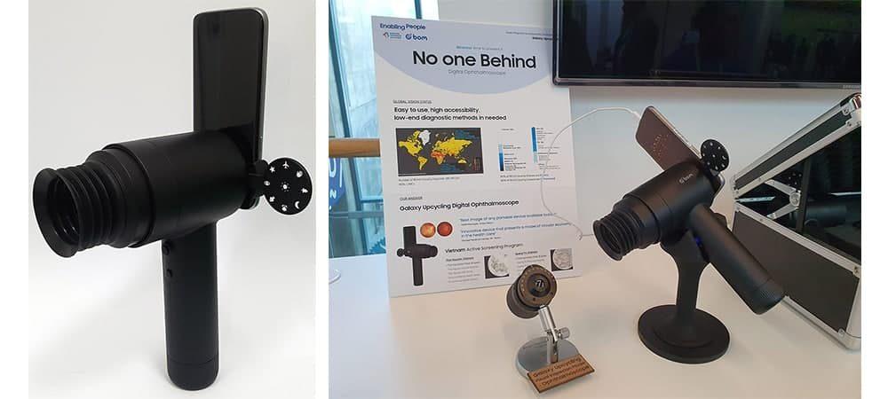 Камера глазного дна EYELIKE™ от Samsung превращает старые смартфоны Galaxy в инструмент для диагностики заболеваний глаз