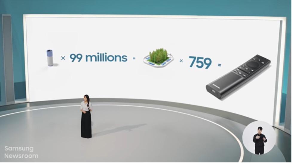 Как Samsung делает аксессуары для телевизоров более экологичными