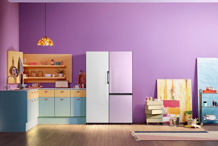Samsung представляет обновленную линейку интерьерных холодильников Bespoke в России
