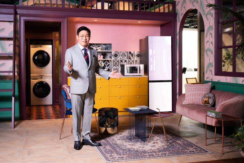 Samsung расширяет линейку бытовой техники Bespoke