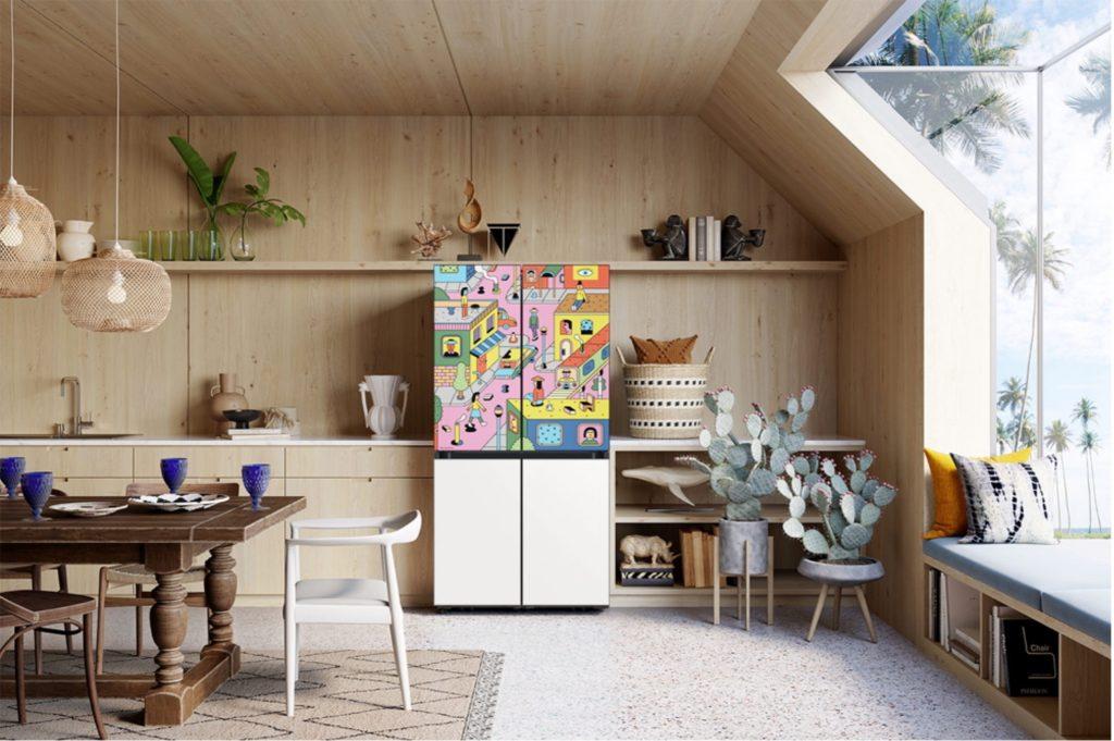 Как холодильник Bespoke стал объектом поп-арта