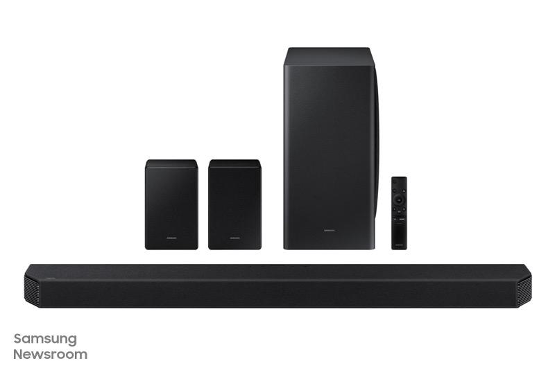 Samsung объявляет о старте продаж в России первого в мире саундбара с 11.1.4-канальным звуком