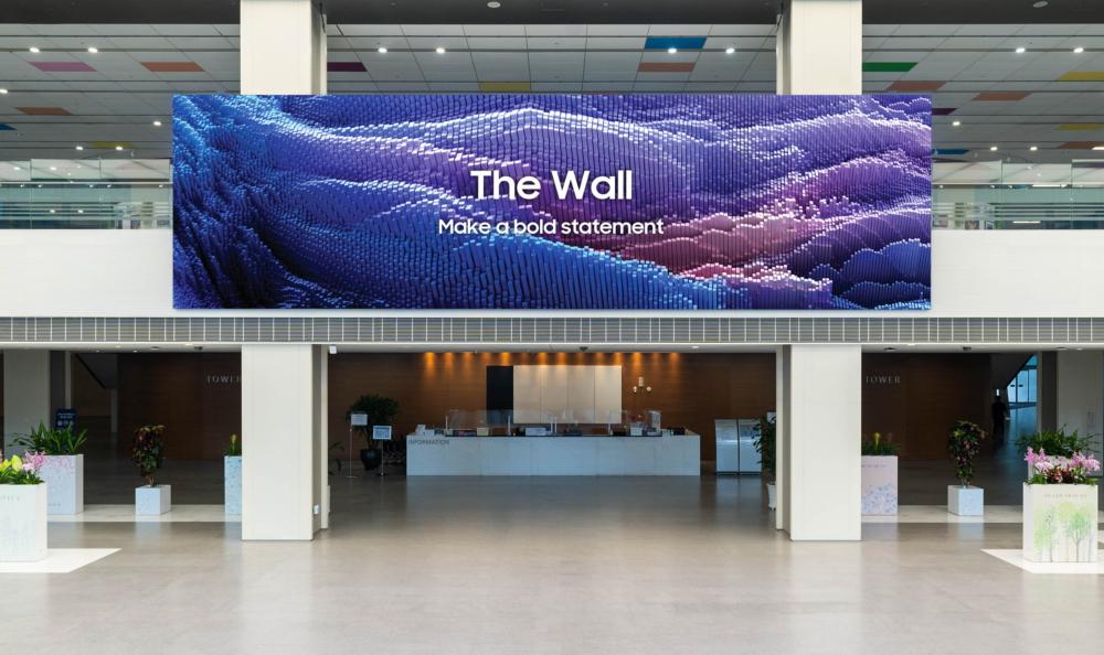 Samsung представила обновленную версию The Wall